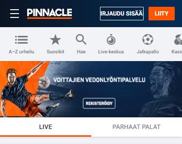 Pinnacle vedonlyönti arvostelu pelaa.online