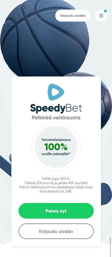 SpeedyBet vedonlyönti arvostrelu pelaa.online