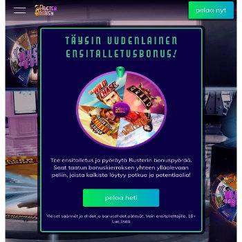busterbanks kasino arvostelu pelaa.online