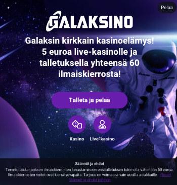 galaksino kasino arvostelu pelaa.online