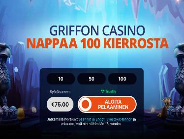 griffoncasino kasino arvostelu pelaa.online