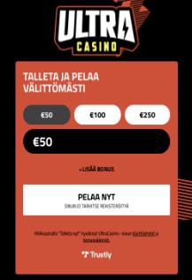 ultracasino kasino arvostelu pelaa.online